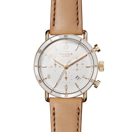Canfield Sport Chrono White