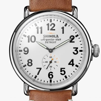 Shinola Runwell 47mm White Dial