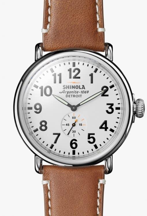 Shinola Runwell 47mm White Dial