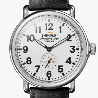 Runwell 41mm White Dial