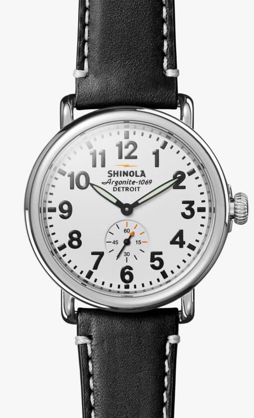 Runwell 41mm White Dial
