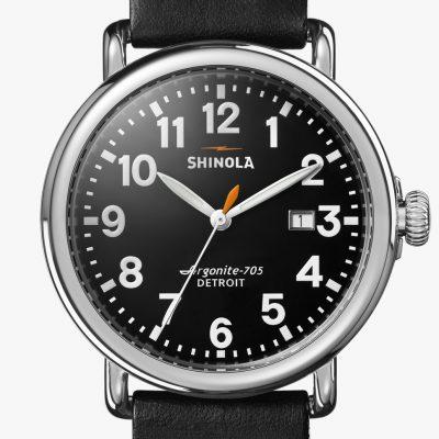 Runwell 41mm Black with Date
