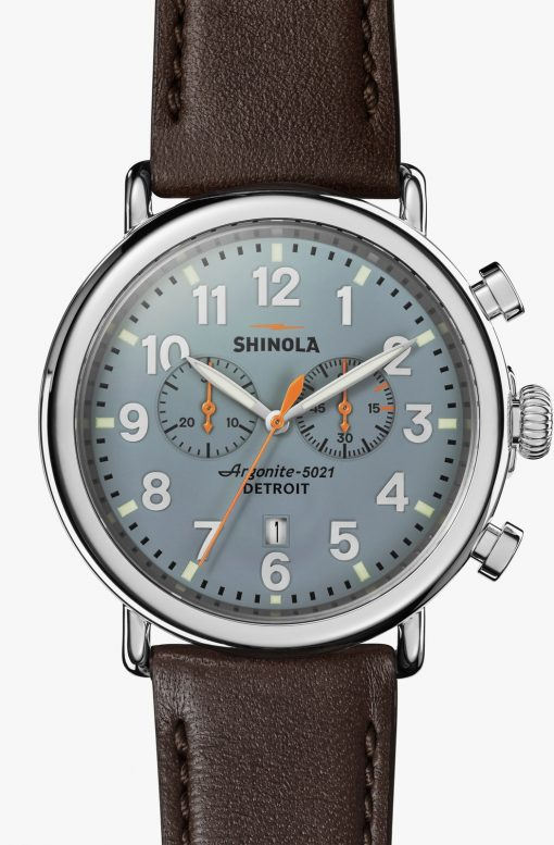 Runwell Chrono 47mm Slate Dial