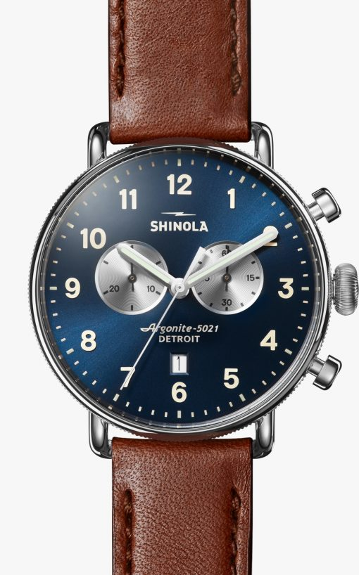 Canfield Chrono Blue Dial