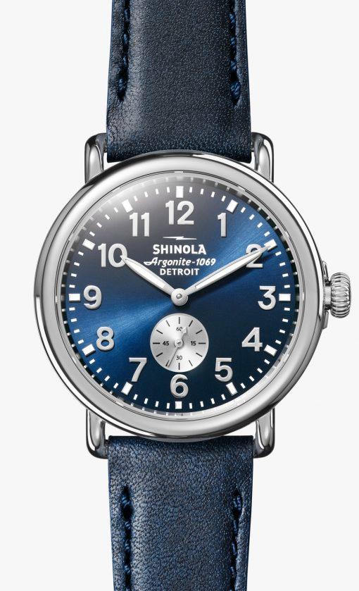 Runwell 41mm Midnight Blue