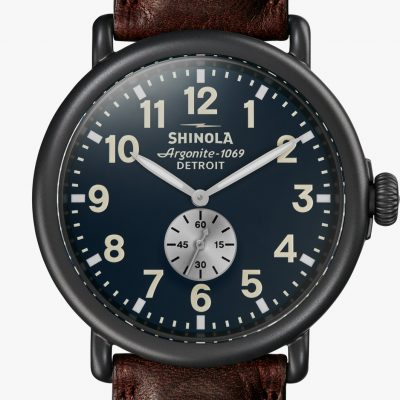 Shinola Runwell 47mm Black PVD