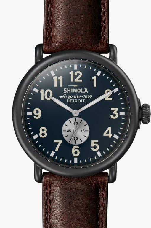 Shinola Runwell 47mm Black PVD
