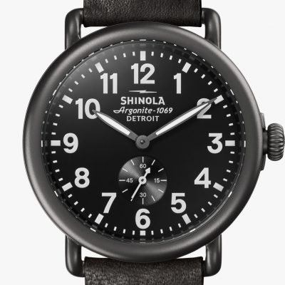 Runwell 41mm Black PVD