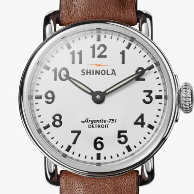 Runwell 28mm White Dial