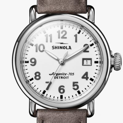 Runwell 36mm Heather Grey