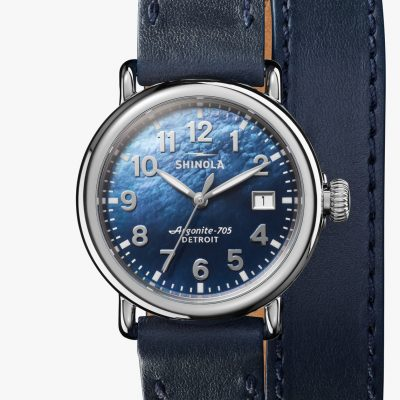 Runwell 36mm Blue MOP