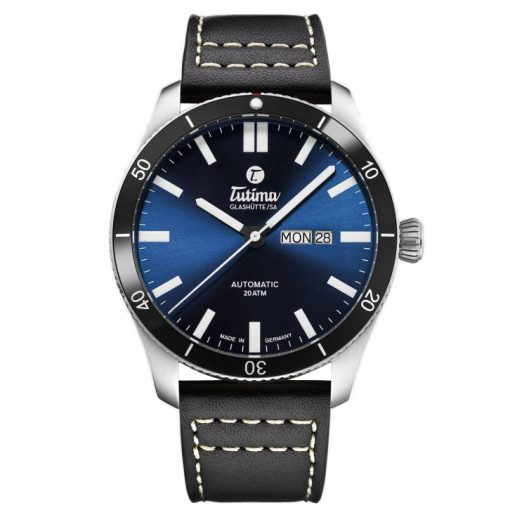 Grand Flieger Airport Blue Dial Strap