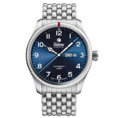 Grand Flieger Blue Dial Bracelet