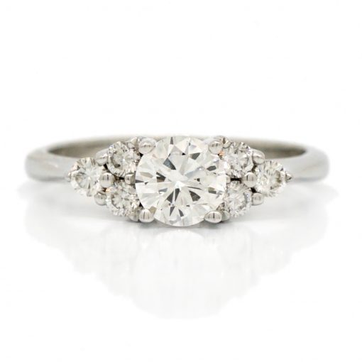 Diamond Solitaire with sides
