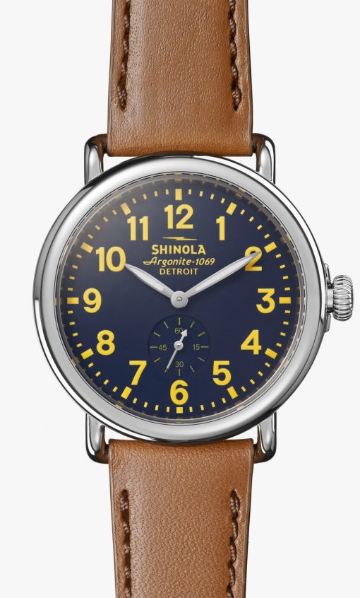 Runwell 41mm Blue and Yellow