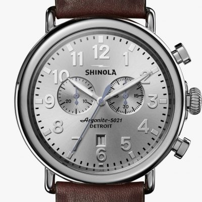 Runwell Chrono Silver Dial